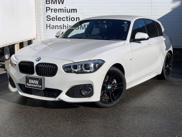 BMW 118i Mスポーツ エディションシャドー 認定保証・アップグレード・ブラックレザー・シートヒーター・電動シート・HiFiスピーカー・コンフォートアクセス・ACC・Dアシスト・純正HDDナビ・バックカメラ・PDC・純正AW・LEDライト・ETC