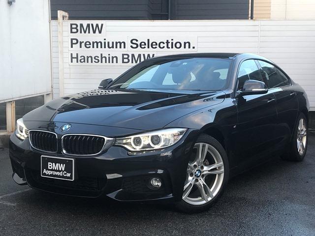 BMW 420iグランクーペ Mスポーツ ・認定保証・ワンオーナー・ACC・パドルシフト・純正HDDナビ・バックカメラ・衝突軽減ブレーキ・車線逸脱警告・電動テールゲート・純正HDDナビ・電動シート・Bluetooth・ミラーETC・F36