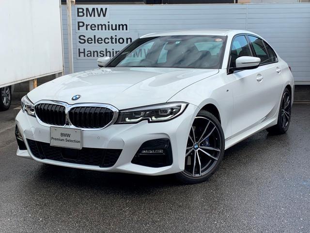 BMW 320d xDrive Mスポーツ ・認定保証・弊社デモカー・ファストトラックパッケージ・シートヒーター・パーキングアシストプラス・OP19AW・Mブレーキ・Mサスペンション・LEDヘッド・オートハイビーム・ミラーETC・SOS・G20