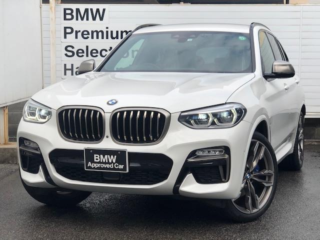BMW M40d 認定保証・ブラックレザー・純正HDDナビ地デジTV・LEDライト・アンビエントライト・ヘッドアップディスプレイ・全周囲カメラ・アクティブクルーズ・前後シートヒーター・