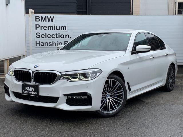 BMW 530i Mスポーツ ・認定保証・ワンオーナー・黒革・前後シートヒーター・ACC・レーンチェンジ・ステアリングアシスト・LEDヘッド・オートハイビーム・Mブレーキ・電動リアゲート・トップビューカメラ・SOS・ETC・G30