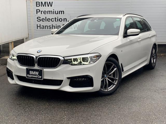 BMW 523dツーリング Mスピリット 認定保証・ヘッドアップディスプレイ・ACC・電動リアゲート・純正HDDナビ・バックカメラ・PDC・地デジ・純正アルミ・ミラーETC・衝突軽減ブレーキ・車線逸脱警告システム・レーンチェンジウォーニング