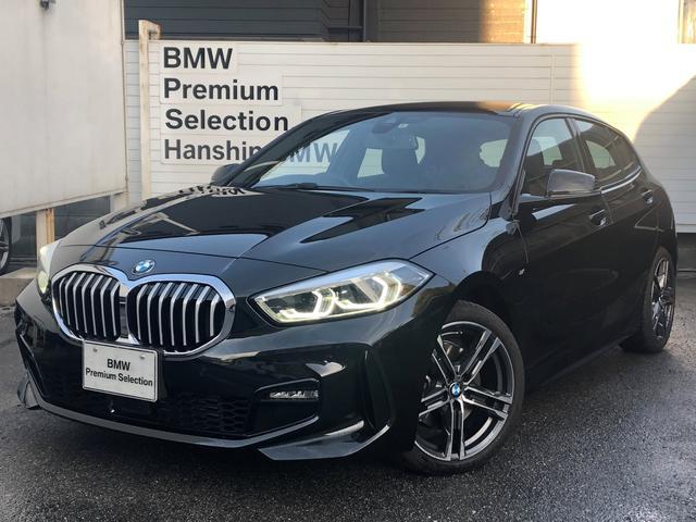 BMW 118d Mスポーツ エディションジョイ+ ・認定保証・元デモカー・ACC・純正HDDナビ・バックカメラ・衝突軽減ブレーキ・車線逸脱警告・電動テールゲート・LEDヘッドライト・純正HDDナビ・後退アシスト・フロント・リアPDC・ETC・F40