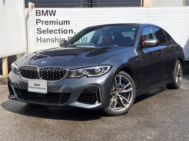 BMW M340i xDrive ・認定保証・フィオナレッドレザー・Pアシストプラス・HUD・レーザーヘッドライト・アクティブクルーズコントロール・ジェスチャーコントロール・純正HDDナビ・全周囲カメラ・純正19AW・ETC・G20・