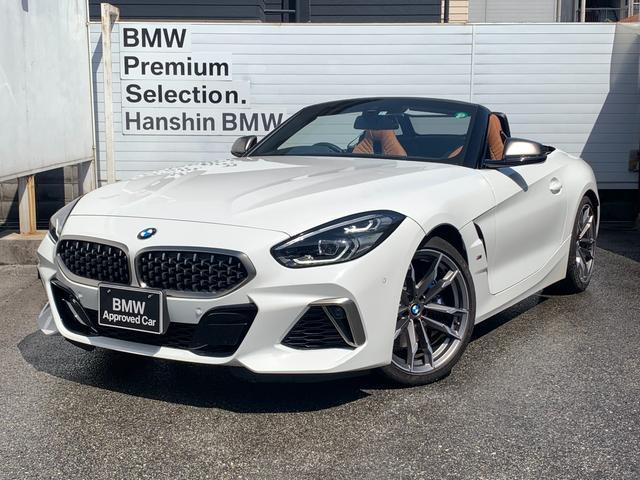 BMW M40i ・認定保証・ハーマンカードン・コニャックレザー・シートヒータ・電動シート・純正ナビ・地デジ・アクティブクルーズコントロール・LEDヘッドライト・レーンチェンジウォーニング・ミラーETC・SOS・G29