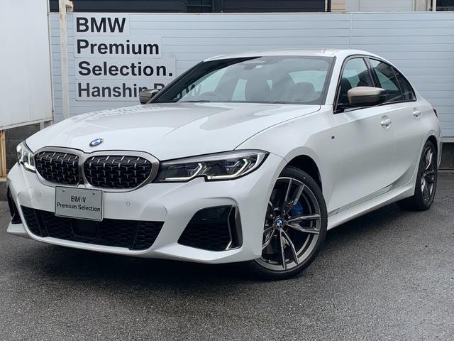 BMW M340i xDrive ・認定保証・黒革・シートヒーター・ハーマンカードン・ヘッドアップ・BMWコックピット・ステアリングアシスト・Mブレーキ・アダプティブMサスペンション・パーキングアシストプラス・ミラーETC・G20