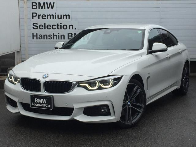 BMW 420iグランクーペ イン スタイル スポーツ 認定保証・300台限定車・アダブティブMサスペンション・Mスポーツブレーキ・アダブティブLEDヘッドライト・ブラックレザー・ACC・19インチAW・レーンチェンジウォーニング・ヘッドアップディスプレイ