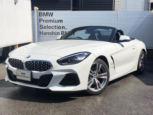 BMW Z4 sDrive20i Mスポーツ 認定保証・1オーナー・イノベーションパッケージ・ブラックレザー・アダプティブLEDヘッドライト・ハイビーム・アシスタント・ヘッドアップディスプレイ・純正18インチAW・パドルシフト・純正HDDナビ