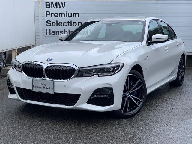 BMW 330e Mスポーツ 認定保証・弊社デモカー・ファストトラックパッケージ・コンフォートパッケージ・純正HDDナビ・360°カメラ・PDC・Mブレーキ・ACC・Dアシスト・LEDライト・電動シート・シートヒーター・ETC