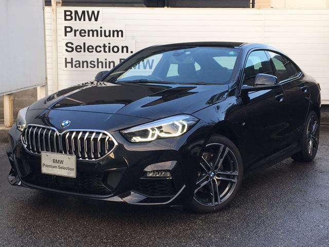 BMW 218iグランクーペ Mスポーツ 弊社元デモカー HDDナビ ACC ライブコクピット 後退アシスト 運転席側電動シート レーンチェンジウォーニング バックカメラ アンビエントライト ワイヤレス充電 オートハイビーム LED 18AW
