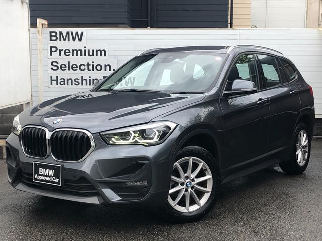 BMW X1 xDrive 18d ・認定保証・元レンタカー・LEDヘッドライト・電動シート・Bカメラ・衝突軽減ブレーキ・車線逸脱警告・コンフォートアクセス・フロント・リヤPDC・純正HDDナビ・Bluetooth・ミラーETC・F48