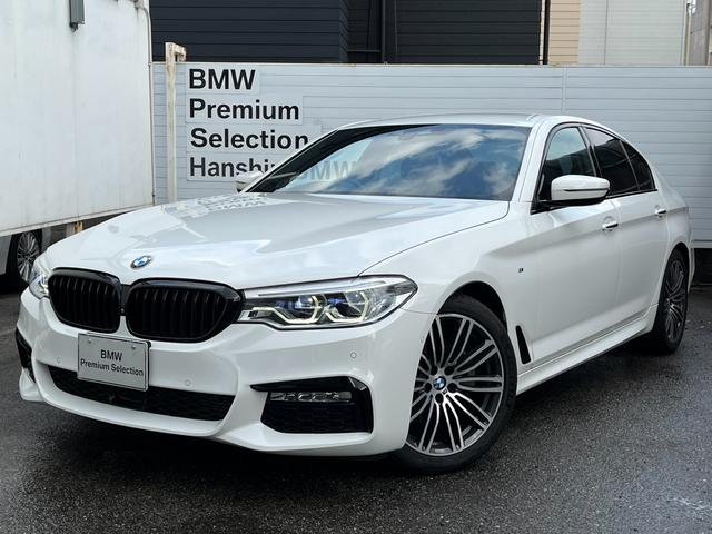 BMW 523d Mスポーツ 認定保証・デビューPKG・ブラックレザー・フロントリアシートヒーター・ソフトクローズドア・ヘッドアップディスプレイ・ACC・LED・純正HDDナビ・360°カメラ・PDC・地デジ・純正19AW・ETC
