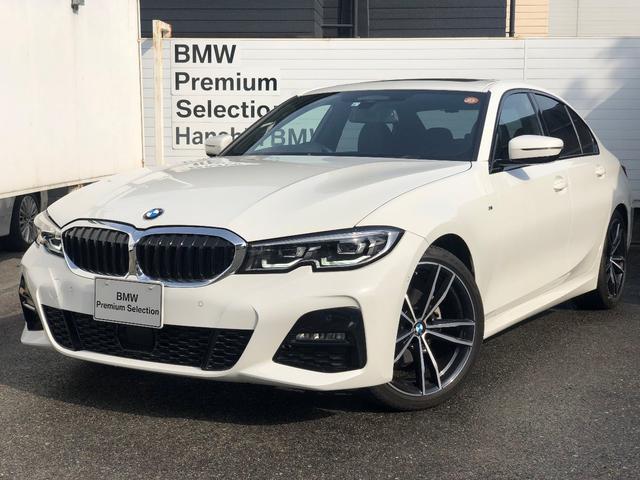 BMW 320i Mスポーツ 認定保証・サンルーフ・デビューパッケージ・ブラックレザー・シートヒーター・純正19AW・LED・ACC・純正HDDナビ・Bカメラ・PDC・電動シート・電動リアゲート・コンフォートアクセス・Dアシスト