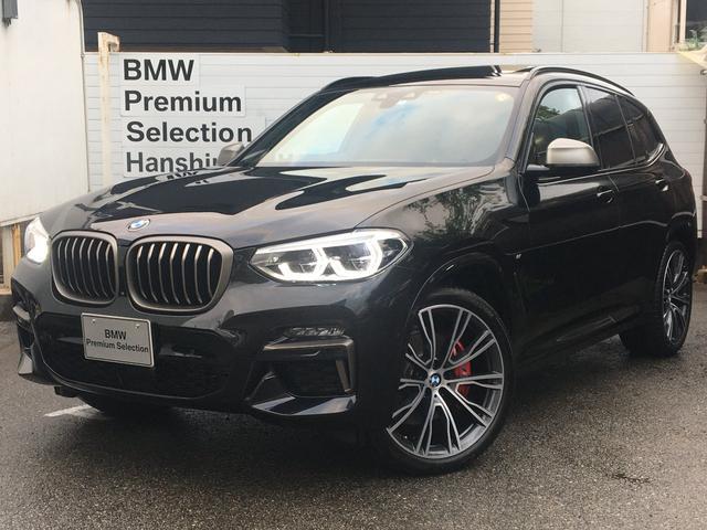 BMW X3 M40d マイルドハイブリッド 1オーナ ファストトラックPKG Mスポーツシート アダプティブM サスペンション インディビジュアル21AW セレクトPKG サンルーフ ハーマンカードン リアアジャストメント