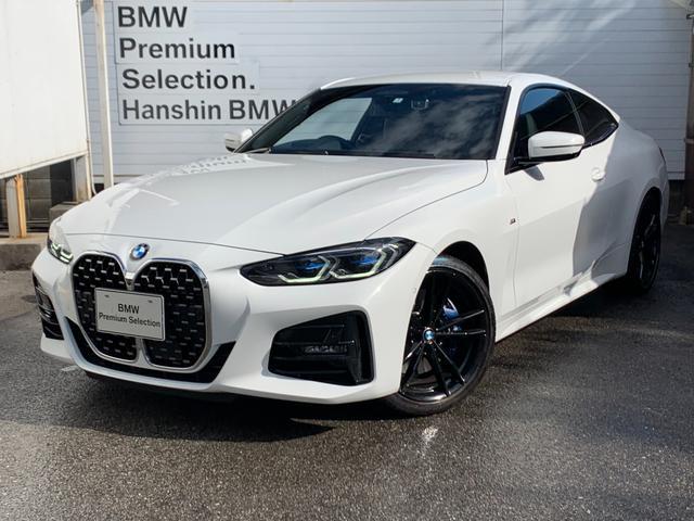 BMW 4シリーズ 420iクーペ Mスポーツ 認定保証・ワンオーナー・純正19AW・Mサス・Mブレーキ・レーザーライト・ヘッドアップディスプレイ・ジェスチャーコントロール・ブラックレザー・シートヒーター・地デジ・純正HDDナビ・電動リアゲート