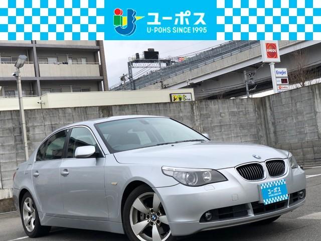 BMW 5シリーズ 525iハイラインパッケージ ナビ Rカメラ フルセグ HID D席パワーシート