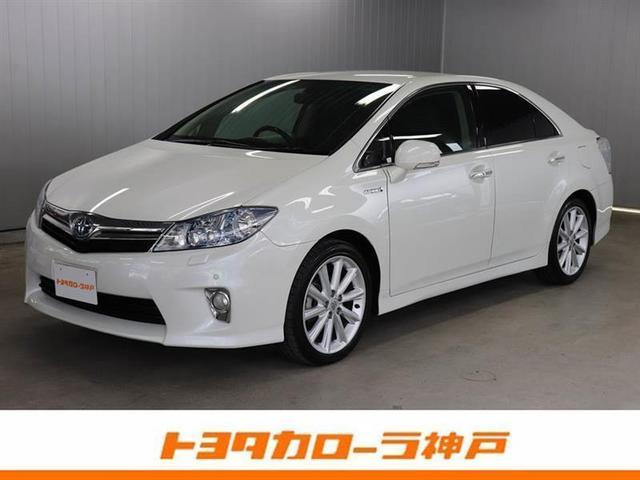 トヨタ G 本革シート HDDナビ フルセグ 電動リアサンシェード