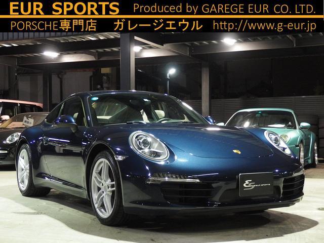 ポルシェ 911カレラ  正規ディーラー車 ワンオーナー サンルーフ