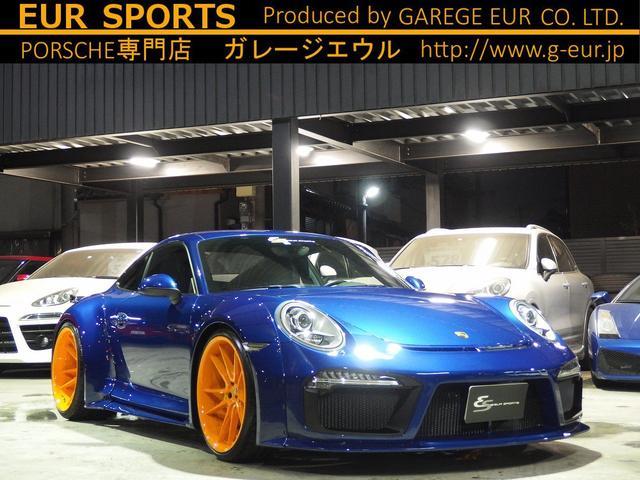 ポルシェ 911カレラ EUR-GTRワイドボディ 可変バルブマフラー