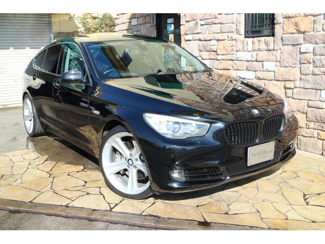 BMW 550iグランツーリスモ ブラックレザー ガラスSR