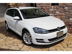 VW ゴルフヴァリアントTSIコンフォートライン BMT 禁煙ワンオーナー車
