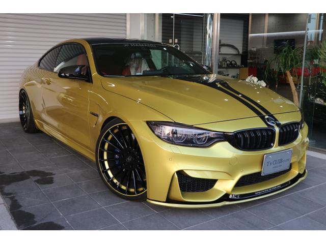 BMW M4クーペ 当社デモカーアップ オートサロンオートメッセ出店