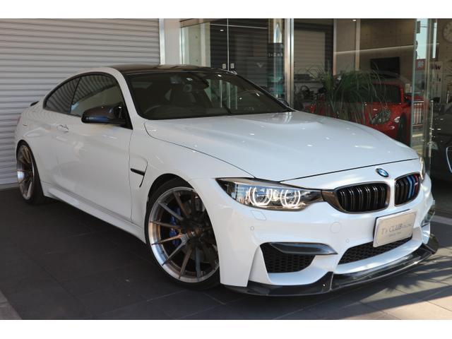 BMW M4クーペ 禁煙車 BC20インチ KW車高調 レムスマフラ