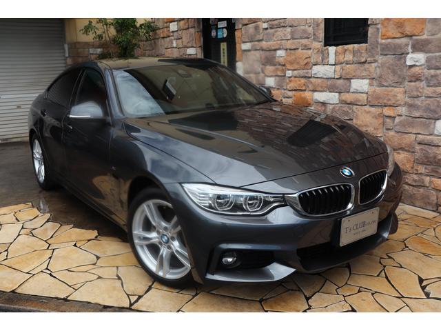 BMW 4シリーズ 420iグランクーペ ACC LEDライト レッドレザー レッドレザー ACC 純正HDDナビ 禁煙ワンオーナー車