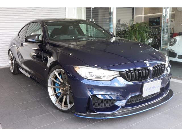 BMW M4クーペ インディビジュアルM DCT ドライブロジック KOLENSTOFFフロントスポイラー BC・FORGED・HB12・20インチ鍛造 3Dデザインマフラー KWバージョン3車高調