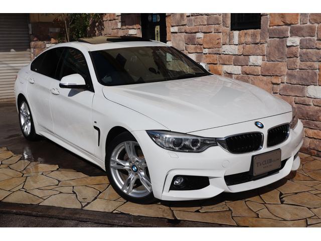 BMW 4シリーズ 420iグランクーペ Mスポーツ SR ACC禁煙1オーナー