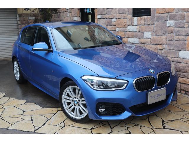 BMW 118i Mスポーツ LEDライト 純正HDDナビ 禁煙車