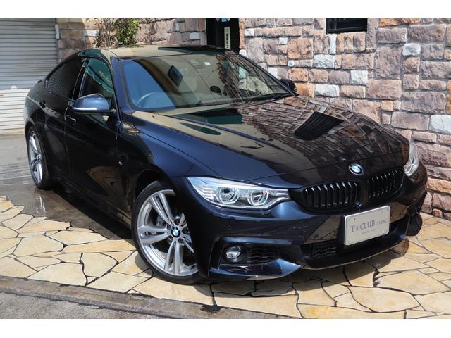 BMW 435iグランクーペ Mスポーツ アイボリーレザー ACC
