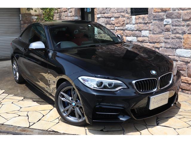 BMW 2シリーズ M235iクーペ レッドレザー 純正HDDナビ 禁煙車