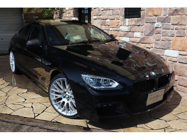 BMW 6シリーズ 640iグランクーペ Mスポーツパッケージ LEDライト ベージュレザー パノラマサンルーフ 純正HDDナビ地デジTV PDC バックカメラ 純正20インチアルミ ビルトインミラーETC