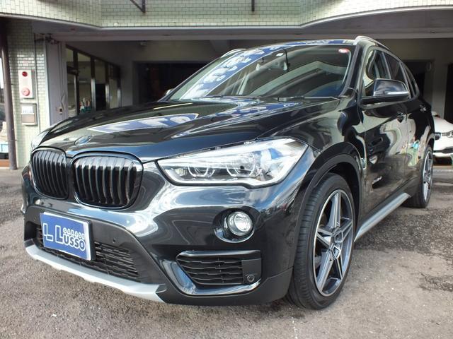 BMW xDrive 18d xライン ハイラインパッケージ コンフォートパッケージ ワンオーナー 禁煙車 シュニッツァー19インチ H&Rダウンサス ブラックレザー シートヒーター LEDヘッドライト バックカメラ ETC オートトランク