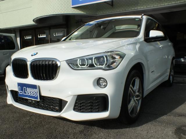 BMW X1 xDrive 18d Mスポーツ ハイラインパッケージ アドバンスドアクティブセーフティ コンフォートパッケージ ヘッドアップディスプレイ プライバシーガラス シートヒーター LEDヘッドライト ワンオーナー ガレージ保管 禁煙車