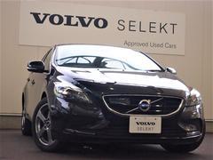 ボルボ V40T4 SE ワンオーナー下取車 黒革2015MY 3年保証