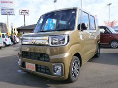 ウェイク GターボSAII 元試乗車 両側電動スライド 自動ブレーキ(ダイハツ)