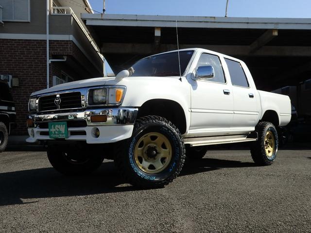 ダブルキャブ SSR-X 4WD 新品マッドタイヤ