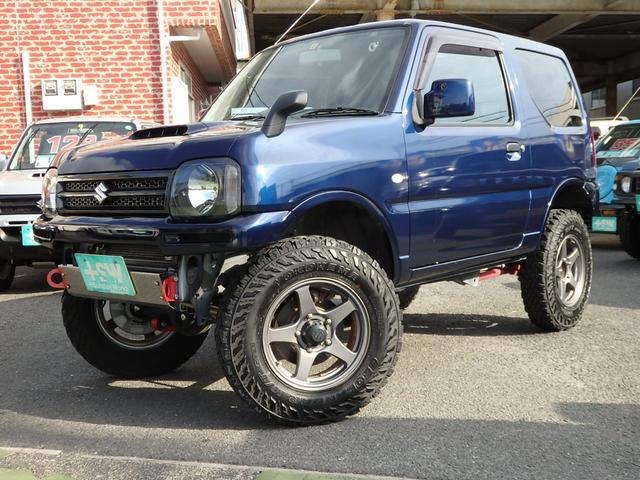 スズキ XG 3インチリフトUP 社外前後バンパー 社外マフラー ユーザー買取車