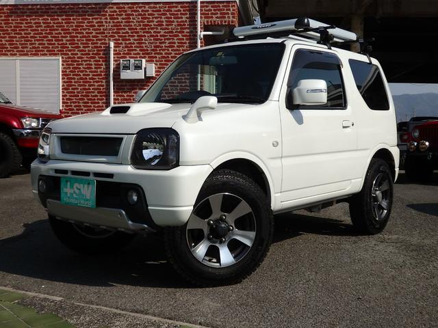 スズキ クロスアドベンチャーXC 社外マフラー ワンオーナー車 4AT 社外グリル 社外LEDヘッドライト