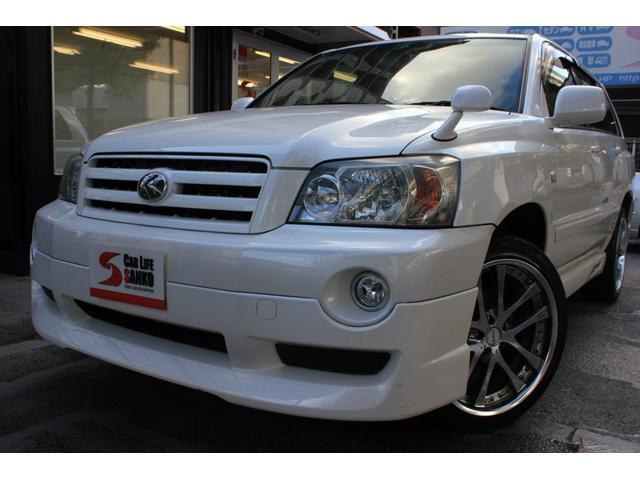 トヨタ 2.4S FOUR 4WD フルエアロ 社外20インチアルミ