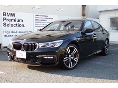 BMW740i Mスポーツ試乗車ブラックレザー20AW リモートP