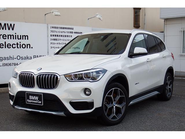 BMW X1 Xライン20iワンオーナーコンフォートP社外地デジ社...