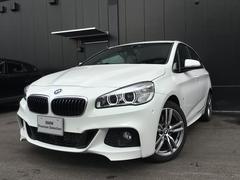 BMW218dアクティブツアラMspACC18インチAWBカメラ