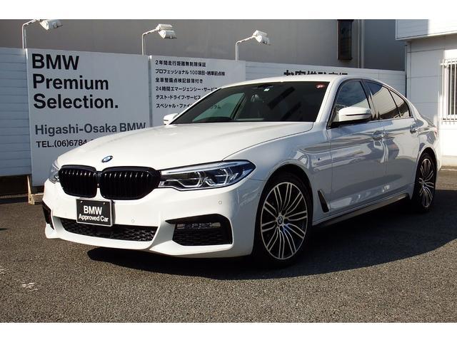 BMW 5シリーズ 523dMspデビューP黒革ジェスチャーCソ...
