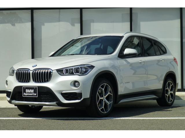 BMW X1 xDrive 18d xライン ハイラインパッケージ 弊社1オナ 禁煙車 ハイラインP 黒レザーシート アドバンスドアクティブセーフティーP ACC