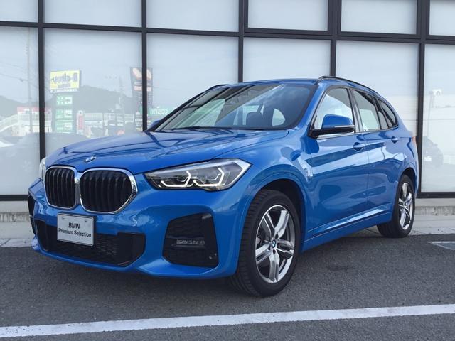BMW X1 xDrive 18d Mスポーツ コンフォートパッケージ Mスポーツパッケージ スポーツシート 18インチアルミホイル 電動シート 電動トランク  パドルシフト 弊社展示試乗車 Mスポーツサスペンション LCIモデル