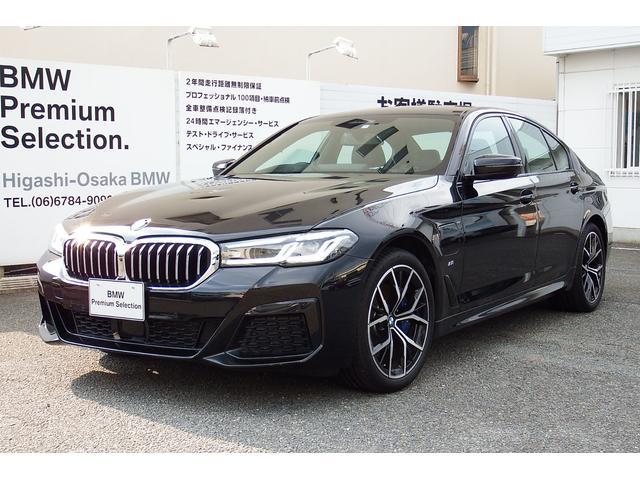 BMW 5シリーズ 530e Mスポーツ エディションジョイ+ ブラックレザー Mスポーツパッケージ 19インチアルミ Mスポーツブレーキ スポーツシート電動トランク LCIモデル スポーツオートマチック ハイグロスシャドー 弊社展示試乗車