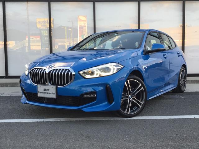 BMW 1シリーズ 118d Mスポーツ エディションジョイ+ Mスポーツパッケージ 18インチアルミホイル コンフォートPKG LEDヘッドライト 前後PDC 被害衝突軽減ブレーキ パワートランク 運転席パワーシート 弊社展示試乗車 ミサノブルー
